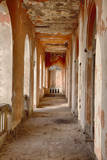 Corridor Along Former Colonial Headquarters, Goree Island, Senegal Photographic Print by Charles Cecil