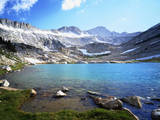 USA, California, Sierra Nevada. a Glacier Lake in the High Sierra Photographic Print by  Jaynes Gallery