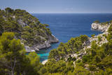 View over the Calanques Near Cassis, Provence, France Photographic Print by Brian Jannsen
