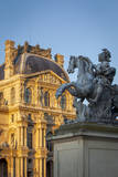 Equestrian Statue of King Louis Xi, Musee Du Louvre, Paris, France Photographic Print by Brian Jannsen