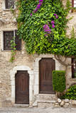 Front Doors to Homes in Ancient St. Paul De-Vence, Provence, France Photographic Print by Brian Jannsen