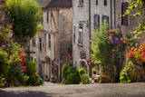 Early Morning Street View, Saint-Cirq-Lapopie, Midi-Pyrenees, France Photographic Print by Brian Jannsen