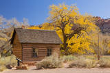 USA, Utah, Capitol Reef National Park, Fruita Schoolhouse Photographic Print by Jamie & Judy Wild