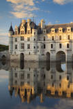 Chateau Chenonceau and River Cher, Indre-Et-Loire, France Photographic Print by Brian Jannsen