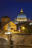 Dome of St. Peter's Basilica by Michelangelo. Rome, Lazio, Italy Photographic Print by Brian Jannsen