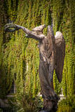 The Victory Statue, Hotel Carnavalet, Les Marais, Paris, France Photographic Print by Brian Jannsen