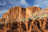 USA, Utah, Capitol Reef National Park, Waterpocket Fold Formations Photographic Print by Jamie & Judy Wild