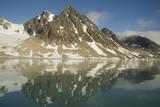 Greenland Sea, Norway, Spitsbergen, Fuglefjorden. Glacial Landscape Photographic Print by Steve Kazlowski