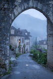 Entry Gate to Saint Cirq Lapopie, Lot Valley, Midi-Pyrenees, France Photographic Print by Brian Jannsen