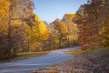Autumn Colors Along the Historic Natchez Trace Parkway, Tennessee, USA Photographic Print by Brian Jannsen