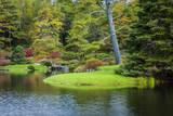 Autumn at Asticou Azalea Garden, Mount Desert Island, Maine, USA Photographic Print by Brian Jannsen
