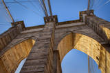 Early Morning on the Brooklyn Bridge, New York City, USA Photographic Print by Brian Jannsen