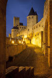 Inside the Fortified Cite Carcassonne, Languedoc-Roussillon, France Photographic Print by Brian Jannsen