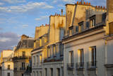 Evening Sunlight on the Rooftops of Paris, France Photographic Print by Brian Jannsen
