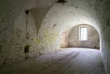 Italy, Mantua-Mantova, Forte Di Pietole Interior Room Photographic Print by Michele Molinari