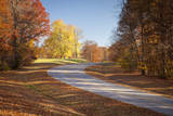 Autumn Along the Natchez Trace Parkway, Tennessee, USA Photographic Print by Brian Jannsen