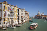 Vaporetto Water Taxi Along the Grand Canal, Venice, Italy Photographic Print by Brian Jannsen