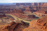 USA, Utah, Canyonlands, Colorado River, View from Deadhorse Point Photographic Print by Jamie & Judy Wild