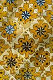 Tunis, Tunisia. Lion's Paw Tiles, Dar Lasram, Tunis Medina Photographic Print by Charles Cecil