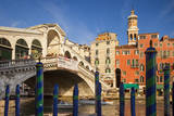 Rialto Bridge Along the Grand Canal, Venice, Italy Photographic Print by Brian Jannsen