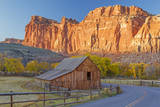 USA, Utah, Capitol Reef National Park, Old Barn Photographic Print by Jamie & Judy Wild