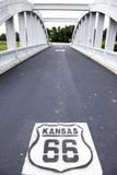 Riverton, Kansas, USA. Route 66 Photographic Print by Julien McRoberts