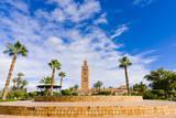 Minaret of the Koutoubia Mosque, Marrakesh, Morocco Photographic Print by Nico Tondini