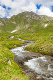 Creek, Mont Fallere, Aosta Valley, Italian Alps, Italy Photographic Print by Nico Tondini