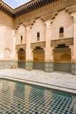 Ben Youssef Madrasa, a Koranic School, Marrakech, Morocco Photographic Print by Nico Tondini