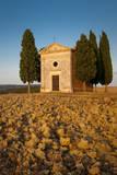Cappella Di Vitaleta at Sunset, San Quirico, Tuscany, Italy Photographic Print by Brian Jannsen