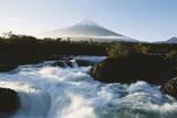 Chile, Osorno, Petrohue River Photographic Print by Andres Morya Hinojosa