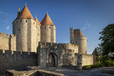 Gate to Medieval Village of Carcassonne, Languedoc-Roussillon, France Photographic Print by Brian Jannsen