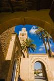 Koutoubia Mosque and Minaret, Marrakech, Morocco Photographic Print by Nico Tondini
