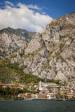 Cliffs over Limone-Sul-Garda Along Lake Garda, Lombardy, Italy Photographic Print by Brian Jannsen