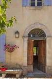 Entrance to Les Carmes Bed and Breakfast, Provence, France Photographic Print by Brian Jannsen