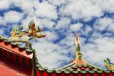Tua Pek Kong Chinese Temple, Kuching, Malaysian Borneo, Malaysia Photographic Print by Nico Tondini