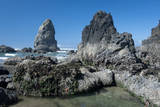 Rugged Sea Stacks Near Haystack Rock at Cannon Beach, Oregon Photographic Print by Greg Probst