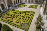 Courtyard Garden of Hotel Carnavalet in the Marais, Paris, France Photographic Print by Brian Jannsen