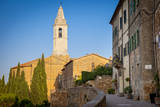Early Morning in Pienza, Tuscany, Italy Photographic Print by Brian Jannsen