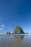 Haystack Rock at Low Tide on a Summer Morning, Cannon Beach, Oregon Photographic Print by Greg Probst