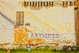 USA, Washington State, Palouse City, Mural on Building Photographic Print by Terry Eggers