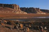 Chile, Altiplano, Los Flamencos National Reserve, Tara Formations Photographic Print by Andres Morya Hinojosa