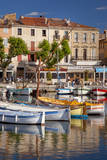 Boats in the La Ciotat Harbor, Bouches-Du-Rhone, Cote D'Azur, France Photographic Print by Brian Jannsen