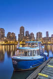 Canada, British Columbia, Vancouver, False Creek Water Taxi Photographic Print by Rob Tilley