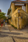 Women's Museum and Street Scene, Goree Island, Senegal Photographic Print by Charles Cecil