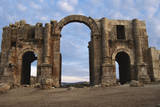 Jordan, Jerash, Main Entrance of Hadrian's Arch Photographic Print by Claudia Adams