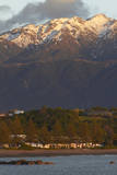 Sunrise on Kaikoura and Kaikoura Ranges, South Island, New Zealand Photographic Print by David Wall