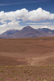Chile, Atacama Desert, Desert Landscape by the Paso Jama Photographic Print by Walter Bibikow