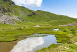 Lake of Frogs, Vetan, Mont Fallere, Aosta Valley, Italian Alps, Italy Photographic Print by Nico Tondini