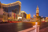 Venetian Hotel and Casino Along the 'Strip' in Las Vegas, Nevada, USA Photographic Print by Brian Jannsen